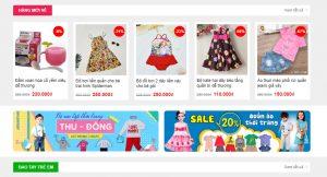 Theme wordpress bán hàng quần áo