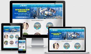 Theme wordpress giới thiệu dịch vụ bảo vệ
