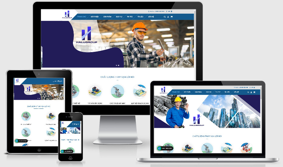 Theme wordpress giới thiệu dịch vụ sản phẩm