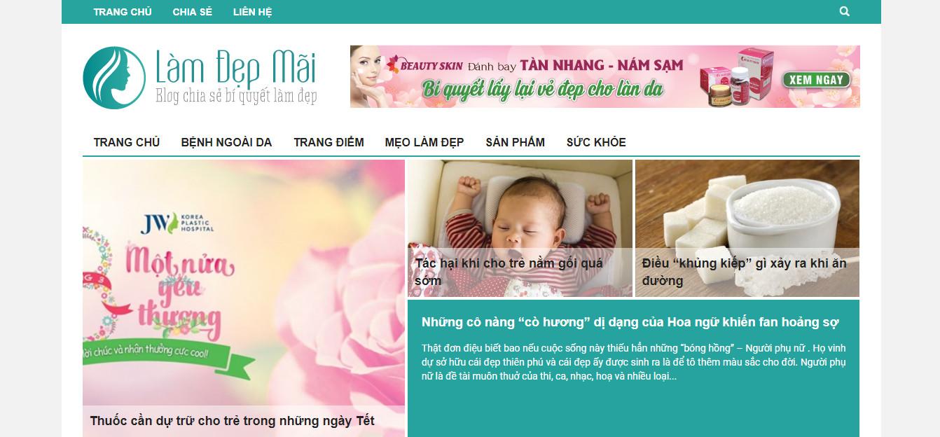 Theme wordpress tin tức đẹp chuẩn seo