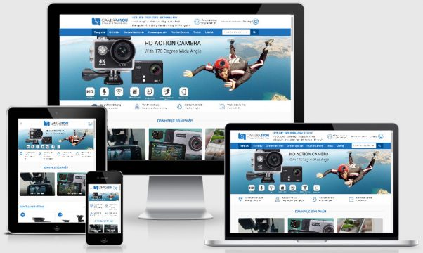 theme wordpress bán hàng camera