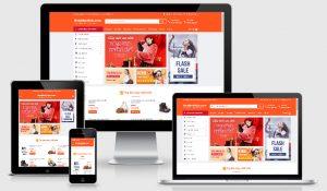 Theme wordpress bán hàng thương mại điện tử