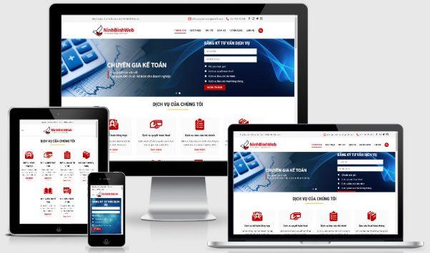 Theme wordpress giới thiệu công ty