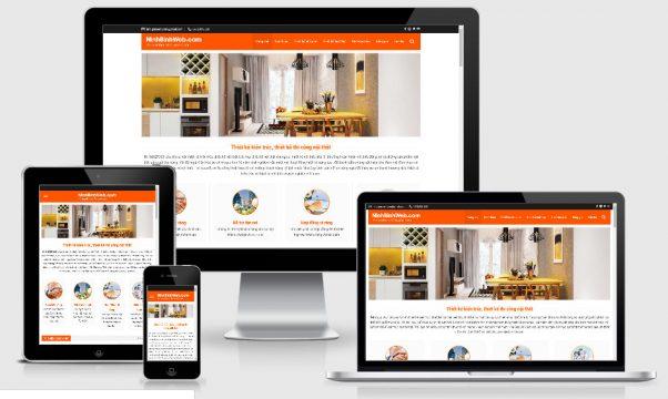 Theme wordpress giới thiệu công ty kiến trúc