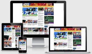 theme wordpress tin tức thể thao bóng đá