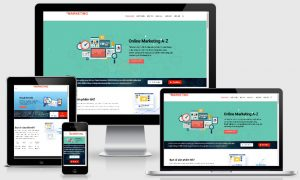 Theme wordpress dịch vụ marketing